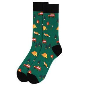 Men's Let's Go Camping Novelty Socks