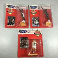 1995 Starting Lineup NBA Basketball Action Figure Lot Hornacek Grant Robinson