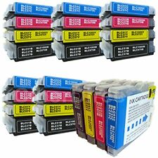 24 hermano dcp-350c Compatible Impresora Cartuchos De Tinta
