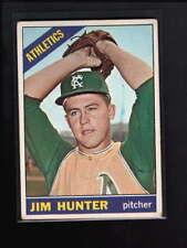 1966 TOPPS #36 JIM HUNTER VG-EX D2594