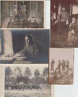 MILITARY WW1 (1916-1918) 37 Vintage Postcards, Photos pre-1940
