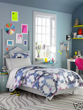 Teen Vogue Reversible Twin Comforter+Sham Set Animal Abstract Pink Black Violet