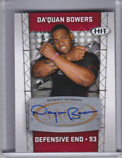 2011 SAGE HIT #A93 DA'QUAN BOWERS AUTO. ROOKIE RC