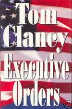 EXECUTIVE ORDERS ~ Tom Clancy ~ 1996 HC DJ FE