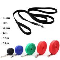 Nylon Belt Puppy Collar Lead Strap Dog Leash Walking Training Traction Rope