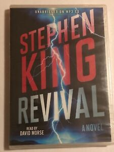 STEPHEN KING Revival Read by David Morse (Audio MP3 CD Unabridged) BRAND NEW !!