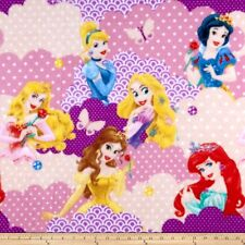 "Fleece Fabric - Disney I Am A Princess Pink - Springs Creative 58"" Wide x Yd"