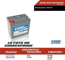 BATERIA DE MOTO MARCA EXIDE YB14L-A2 (Ref Exide EB14L-A2) ENVIO GRATIS 24H