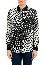 Viktor & Rolf Women's Silk Animal Print Button Up Blouse Top US S IT 40