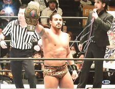 Tama Tonga Signed 11x14 Photo BAS COA New Japan Pro Wrestling Bullet Club NJPW E