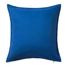 IKEA GURLI Kissenbezug Kissenhülle Kopfkissen Bezug blau Baumwolle 50x50cm NEU