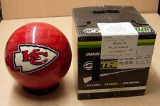 10# 0oz  Bowling Ball OTB Viz-A-Ball NFL Rare 2010 Kansas City CHIEFS
