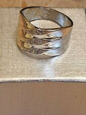 ring size 10 Fashion Jewellery silver plated