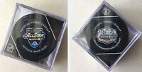 2020 NHL WINTER CLASSIC & ALL STAR GAME PUCK SET(2) CUBE DISPLAY CASE OFFICIAL