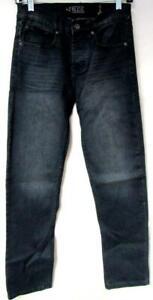 Rude Men 26x30 28x30 30x30 32x30 34x30 36x30 Button Fly Straight Leg Jeans J1 35