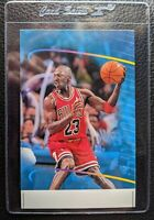 1998 STADIUM CLUB NEVER COMPROMISE MICHAEL JORDAN BULLS HOF JUMBO SAMPLE PROMO