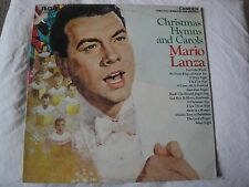 MARIO LANZA CHRISTMAS HYMNS AND CAROLS VINYL LP 1963 RCA CAMDEN RECORDS STEREO