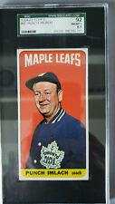 """1964-65 Topps """"Tall Boy"""" Hockey # 45, George Punch Imlach. SGC Graded: 92= 8.5"""