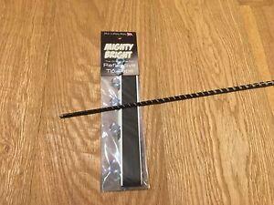 "12"" Mighty Bright ""eclipse""  BLACK (premium range) reflective tip tape!"