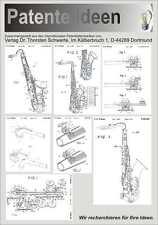 Musikinstrument: Saxophone antik u. modern 1300 S.