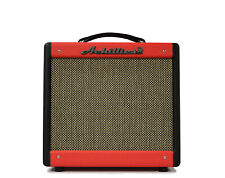 Achillies Nyx 1x10 Black Red Guitar Amplifier Hand Wired In Australia