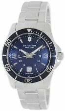 Victorinox Swiss Army 241602 Maverick GS Navy Blue Dial Mens Watch NWT $495