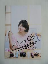 Suzy Bae Miss A 4x6 Photo Korean Actress KPOP autograph hand signed USA Seller 9