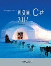 Starting Out with Visual C# 2012, 3rd Ed. - Tony Gaddis (2013, Paperback)
