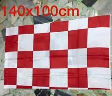 1 bandiera scacchi biancorossa neutra bari teramo vicenza 140x100cm Flag