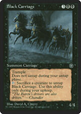 Magic MTG Tradingcard Homelands 1995 Black Carriage
