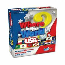 Where in the World - Usa Edition - Educational game - Nib