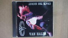 "Van Halen ""Crack The Secret"" Pro Sourced Silver Disc-Brand New/Never Usedc"