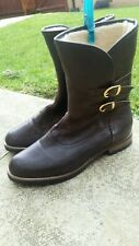 Russell and Bromley buckle Boots Size 5 colour dark brown,brand new,rrp £225.00.