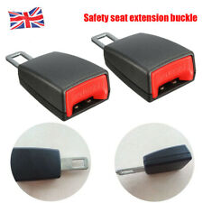 A Pair New Universal Car Safety Seat Belt Extender Extension Buckle Lock Clip