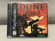 Dune 2000 Playstation 1 PS1 complete excellent shape