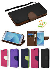 Strap Leather Flip Wallet Protective Case Cover For Samsung Galaxy S10 / E /Plus
