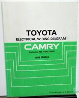 1986 Toyota Camry Wiring Diagram Factory Shop Service Repair Manual Book Ebay