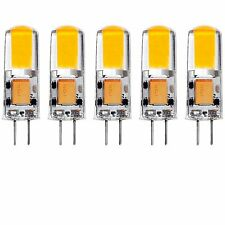 Luxrite G4 LED Bulb 12V AC/DC 20W Halogen T3 Equivalent 200lm 2700K 5-Pack