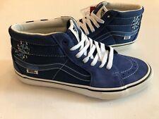 Vans New Sk8-Mid Pro Ltd Alltimers Navy/White VN0A4ODRSOY Men's Shoe Size 10.5