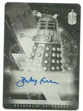 Doctor Who Timeless Barnaby Edwards Printing plate Black autograph Card 1/1