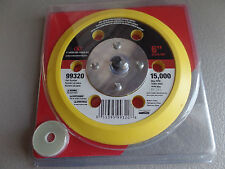 """Carborundum 6"""" Stick-On Back Up Pad 99320 15,000 RPM NEW IN PACKAGE"""