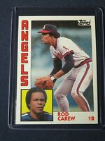 1984 Topps ROD CAREW California Angels Baseball Card #600 MINT Free Shipping!