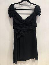 Prada Black Dress Size 12 #2.3462 A