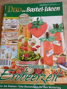 """Bastelheft  ,, Erdbeerzeit """""""
