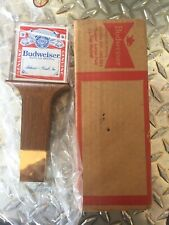 Vintage Budweiser Beer Tap Handle New Old Stock W/ Box Man Cave King Of Beers