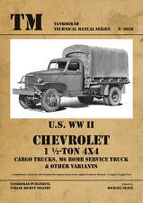 TANKOGRAD 6038 Chevrolet 1 ½-ton 4x4 Trucks Cargo, M6 Bomb Service and others