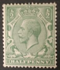 1913  1/2d. PALE DULL BLUE GREEN. N14(-).  MOUNTED MINT . HEAVILY HINGED