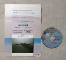 "CD AUDIO INT / JAN GARBAREK ""VISIBLE WORLD"" HORS COMMERCE RARE 6287 ECM 1996"