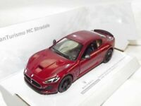 "Maserati Gran Turismo MC Stradale Red Die Cast Metal Model Car 5"" New Boxed"
