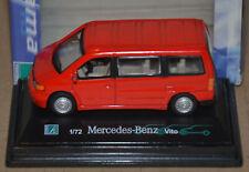 CARARAMA / HONGWELL - MERCEDES VITO MINIBUS - RED - 1:72 SCALE CAR MODEL